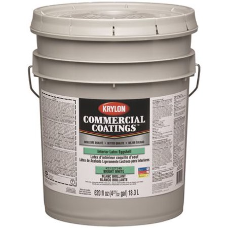 Krylon Interior Latex Paint 5 Gallon Linen White