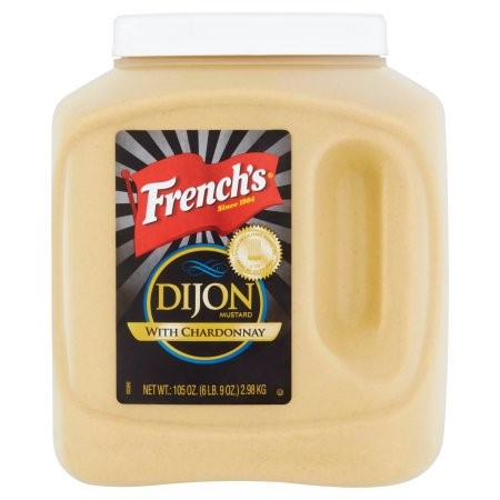 French's Dijon Mustard with Chardonnay, 105 Oz by Reckitt Benckiser