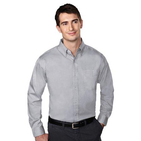 Wrinkle Free Shirt (Tri-Mountain Men's Big And Tall Wrinkle Free Oxford Shirt)