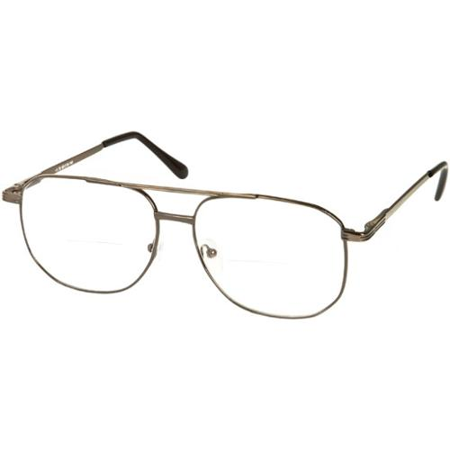 readers the whitman bifocal 3 25 grey reading glasses