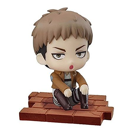 Attack On Titan Jacket Male (Attack on Titan Suwarasetai Sitting Mini Figure Collection - Jean)