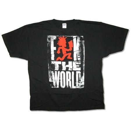 Insane Clown Posse F The World Hatchetman Black T Shirt ICP