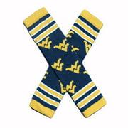 Little Big Fan West Virginia Univ Arm & Leg Warmers - Stripe