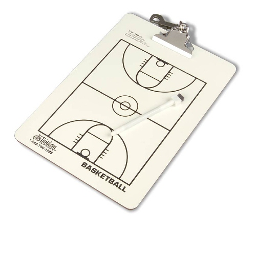 Coaching Board by Tandem Sport, Basketball - 8.75'' x 12.5''
