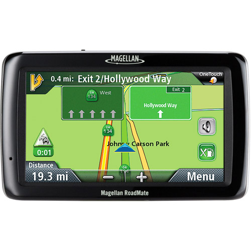 Magellan RoadMate 5045 5-Inch Widescreen Portable GPS Navigator with Lifetime Traffic by Magellan