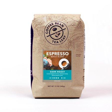 The Coffee Bean & Tea Leaf Espresso Dark Roast Ground Coffee 12 oz. Bag