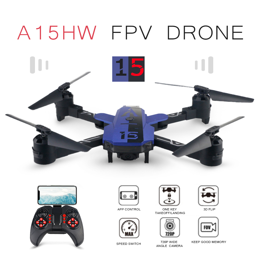 AISO 2.4G 6CH A15HW WIFI FPV With 720P Wide Angle Camera