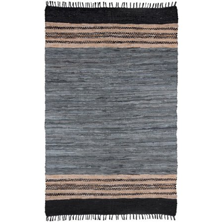 Bungalow Rose Sandford Hand-Loomed Gray Area Rug (Bungalow Style Rugs)