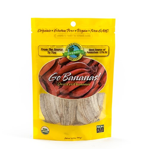 Organic Dried Banana Slices