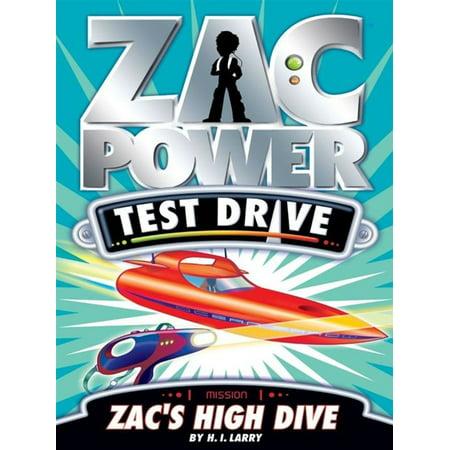 Zac Power Test Drive: Zac's High Dive - eBook