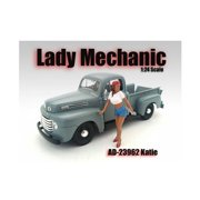 American Diorama 23962 Lady Mechanic Katie Figure for 1-24 Scale Models