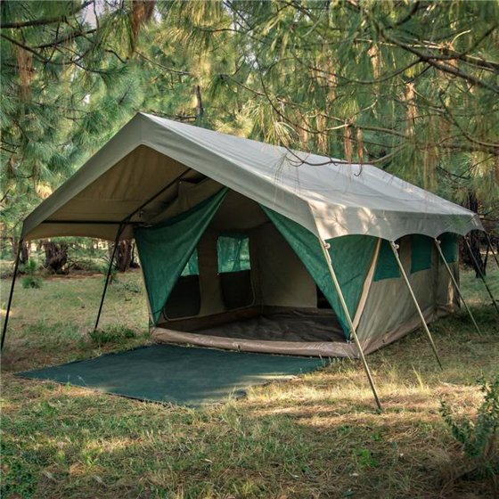 the latest 6d4f3 4c11b Bushtec Adventure Echo 2200 Meru Luxury Canvas Tent for outfitter,  basecamp, camping, glamping.