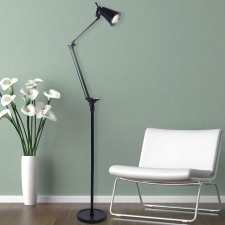 Lavish Home 6 Foot LED Adjustable Floor Lamp for $<!---->