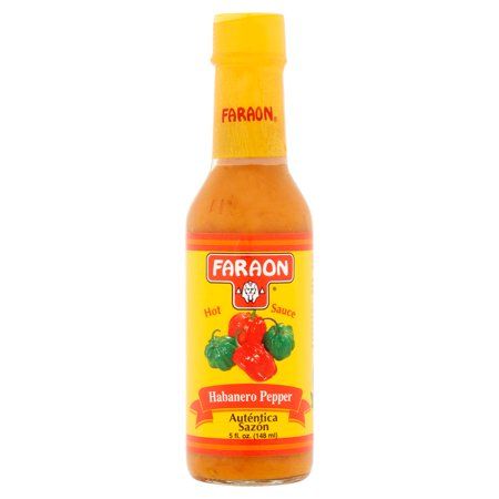 Green Habanero Sauce - (2 Pack) Faraon Habanero Pepper Hot Sauce 5 fl. oz.