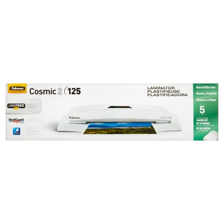 Fellowes Cosmic 2 125 Laminator 10 Pouches Starter Kit