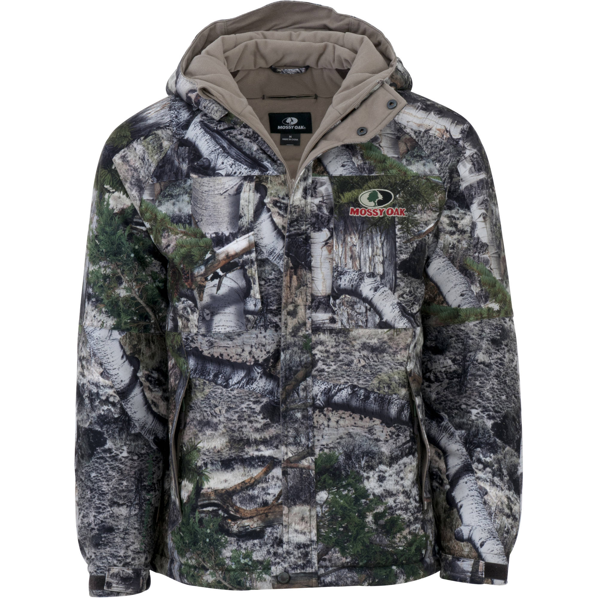 Mens Jacket Parka, Mossy Oak Mountain Country by Wuhu Huayang Clothing Group Co. Ltd
