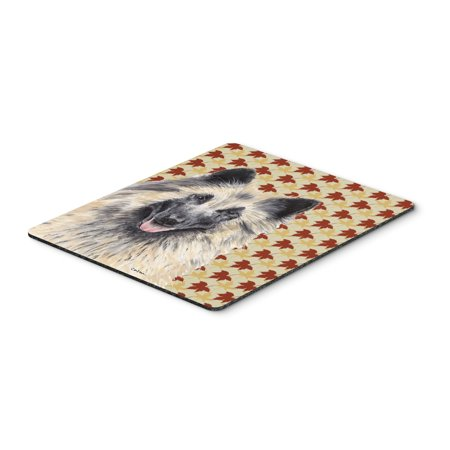 Belgian Tervuren Fall Leaves Portrait Mouse Pad, Hot Pad or Trivet