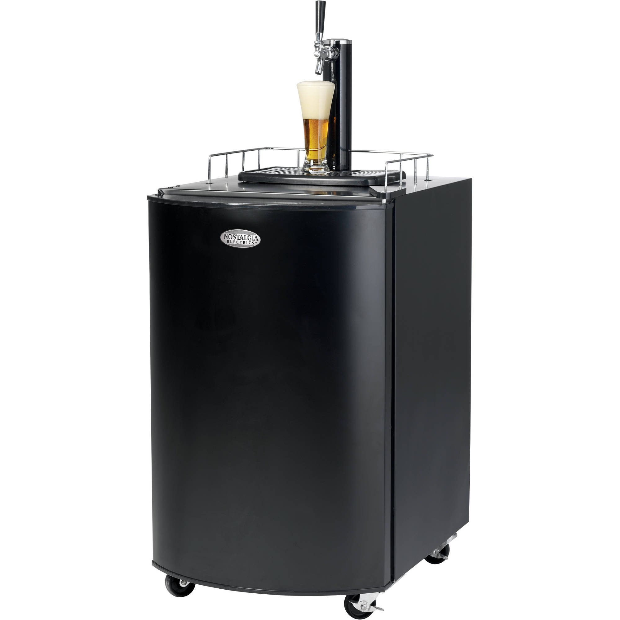 EdgeStar Full Size Dual Tap Kegerator & Draft Beer Dispenser - Black ...
