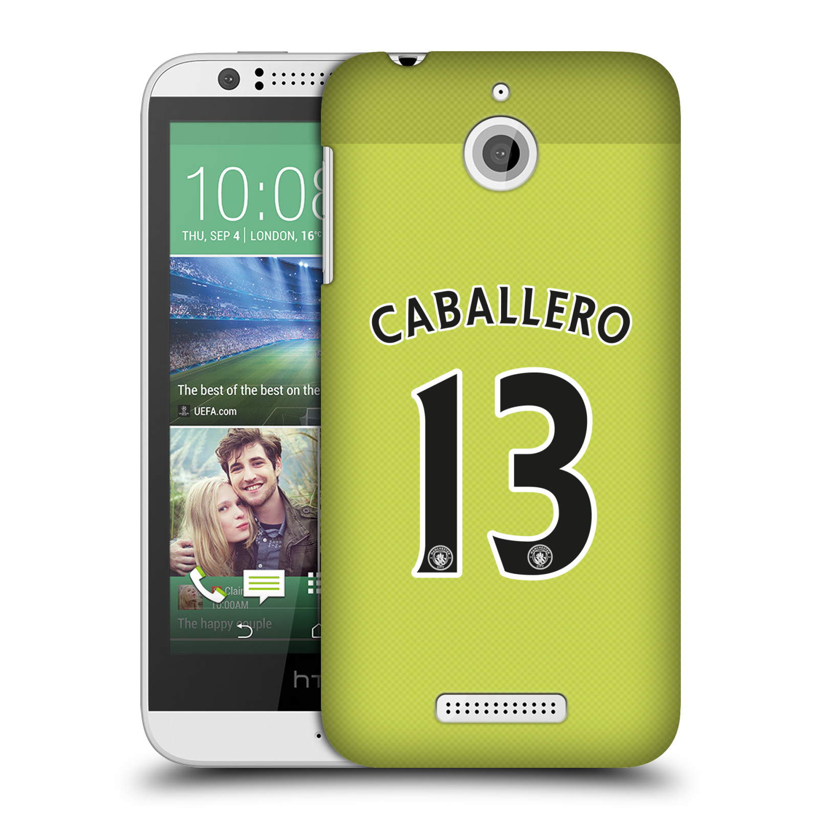 OFFICIAL MANCHESTER CITY MAN CITY FC PLAYER HOME KIT 2016/17 GROUP 1 HARD BACK CASE FOR HTC PHONES 2