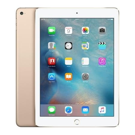 Refurbished Apple iPad Air 2 16GB Gold Wi-Fi 3A141LL/A (Apple Ipad Air 2 Gold)