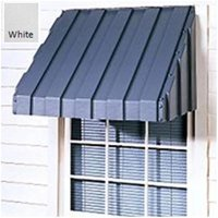 East Iowa Plastics A48WH Window Awning  48 in.  White