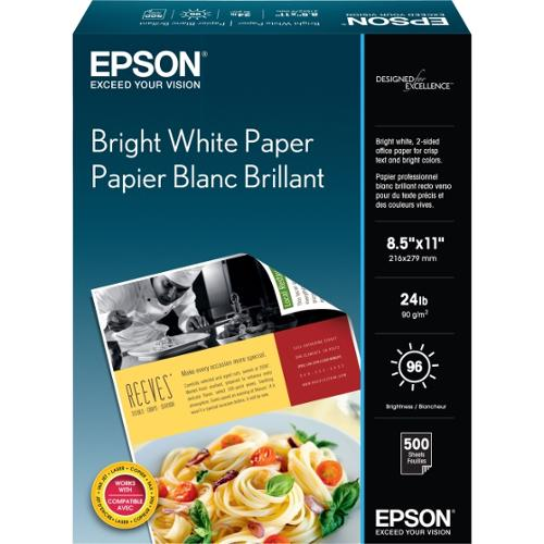 Epson Premium Photographic Papers - Smooth - 500 x Sheet Letter Size