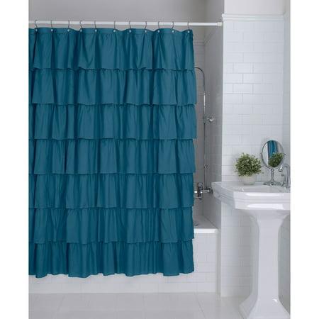 Better Homes Gardens Ruffles Shower Curtain