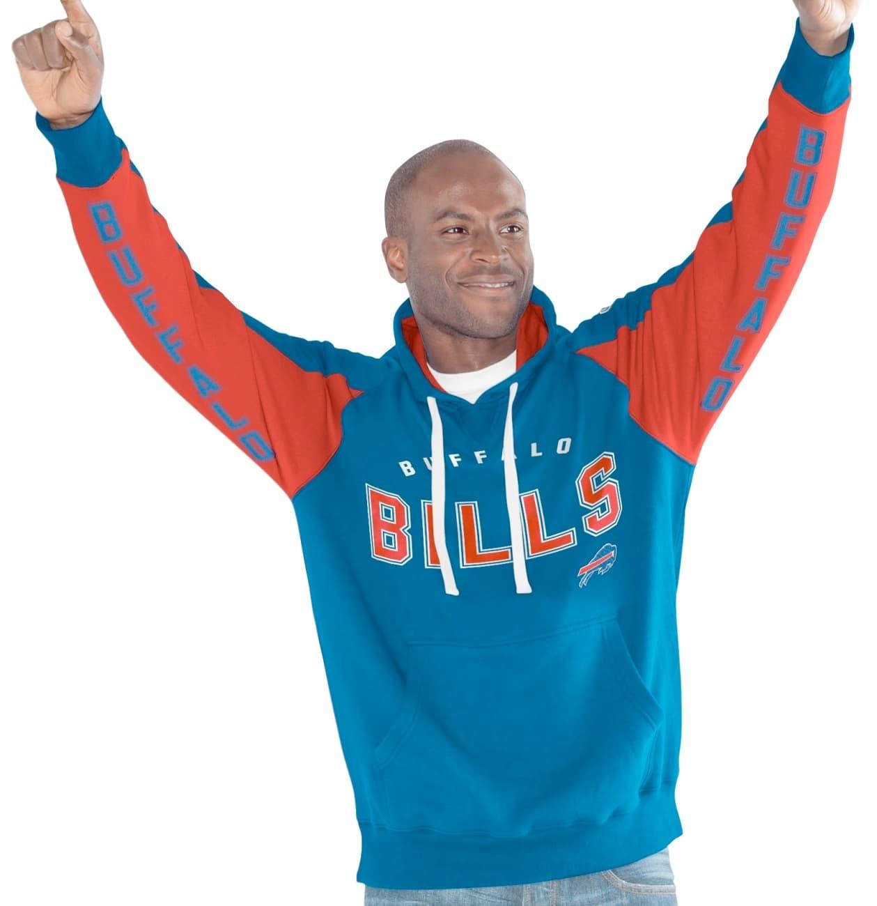 "Buffalo Bills NFL Men's G-III ""Hands High"" Hooded Fleece Sweatshirt"