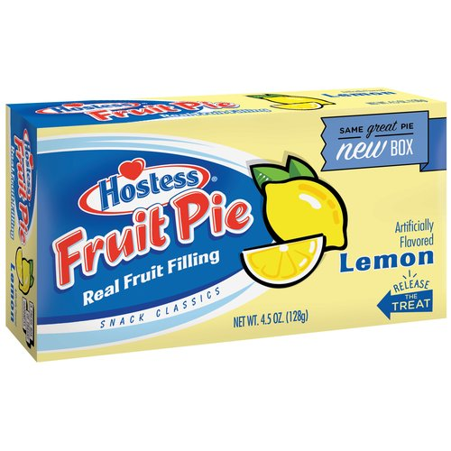 Hostess Lemon Pie 4.5oz Ss