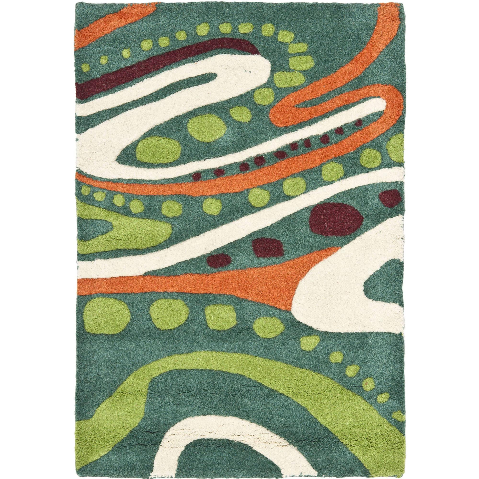 Safavieh Soho Cheryl Abstract Wool Area Rug or Runner
