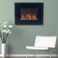 Northwest 26 inch Glass Wall Mounted Electric Fireplace