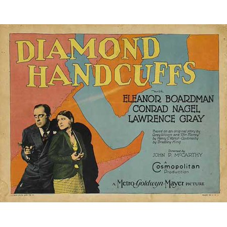 "Diamond Handcuffs - movie POSTER (Style A) (11"" x 14"") (1928)"