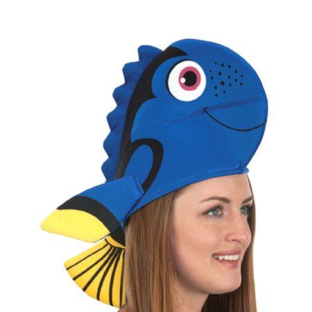 Blue Fish Hat (Dead Fish Hat)