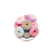 garb2ART Raspberry Lemonade Donut & Watermelon Bath Bomb