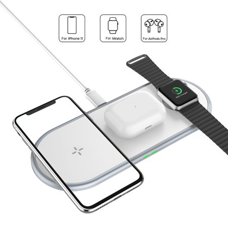 3 in 1 Wireless Charger Multifunctional Fast Charging Adapter for Phone Watch Headset - image 7 of 8