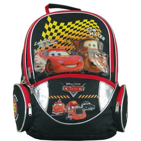 Backpack - Disney - Cars Lightning Mcqueen & Tow Mater New 639662