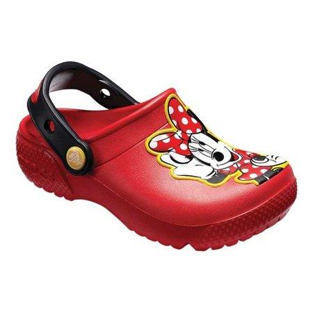 Crocs 204995-8C1: Kids Fun Lab Disney Flame Minnie Mouse Clog (9 M US - Minnie Mouse Shoes Adults