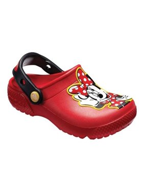 72593a0ca Product Image Crocs 204995-8C1  Kids Fun Lab Disney Flame Minnie Mouse Clog  (9 M