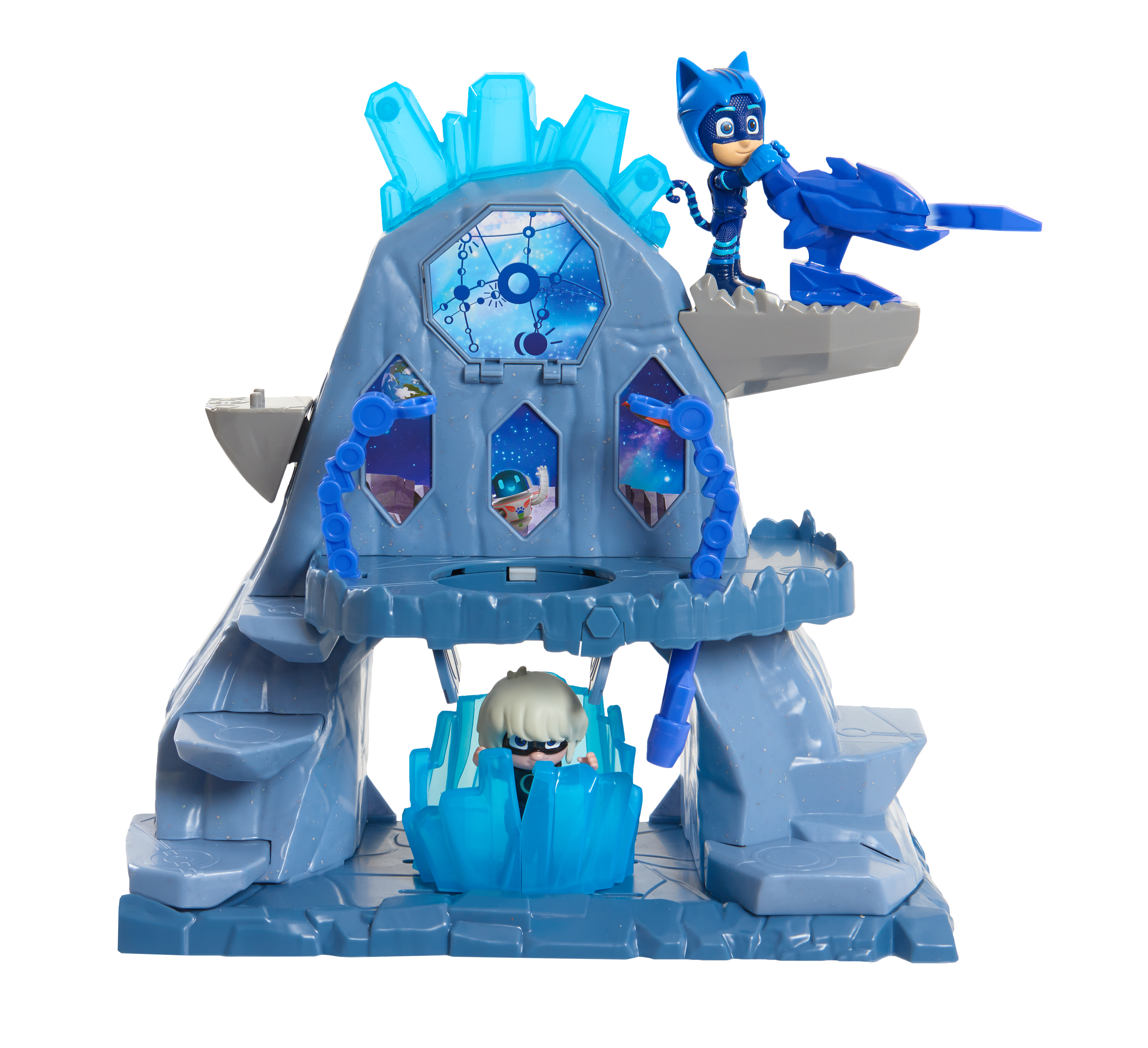 PJ Masks Super Moon Adventure Fortress Playset, Catboy & Luna Girl Figure Included