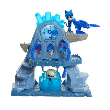 PJ Masks Super Moon Adventure Fortress Playset, Catboy & Luna Girl Figure - Xenomorph Mask