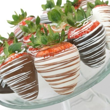 12 Belgian Mixed Chocolate Covered Strawberries