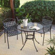 Belham Living Capri Wrought Iron Outdoor Bistro Set by Woodard