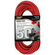 Powerzone ORK506730 SJTW Heavy Duty Extension Cord, 14/3, 50 ft, Double