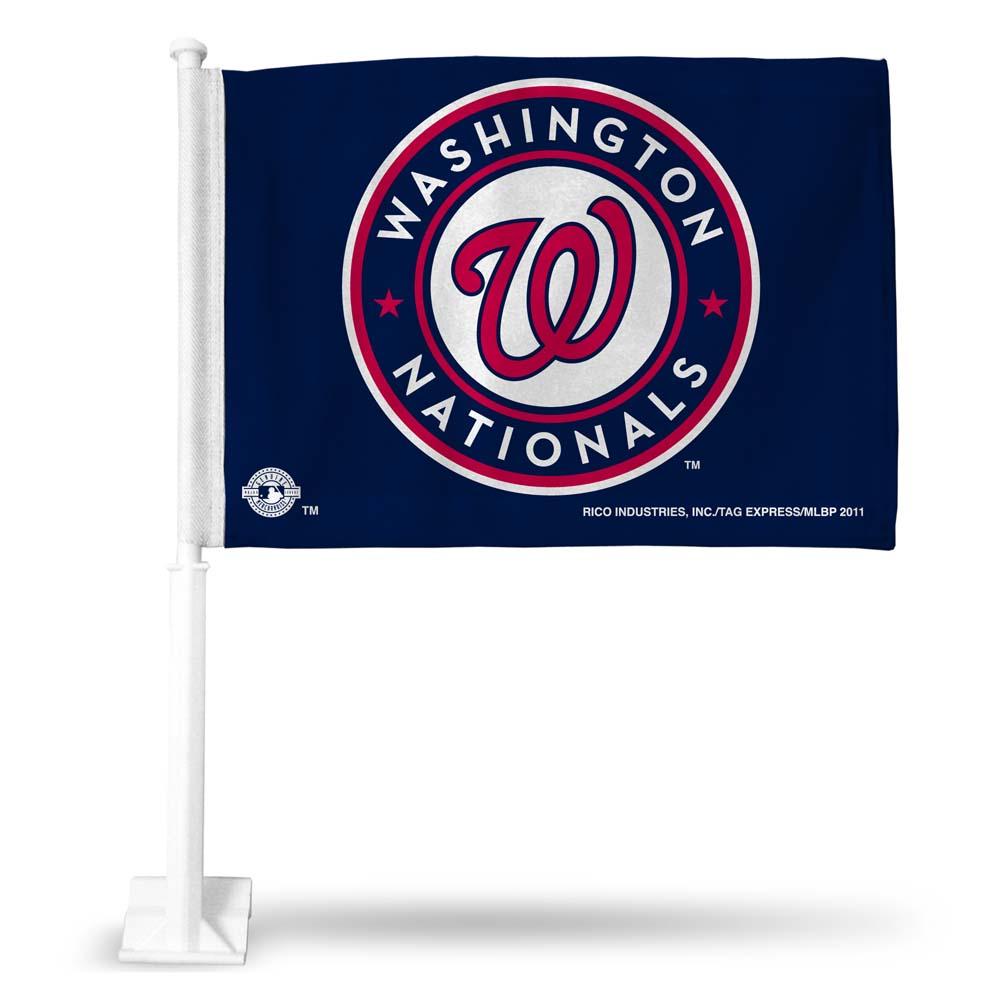 MLB - Washington Nationals Car Flag