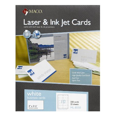 Maco business card for inkjet print 350 x 2 250 box maco business card for inkjet print 350 x 2 250 colourmoves