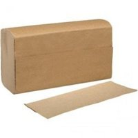 Prime Source 75000254 CPC 9.5 x 9.25 in. Brown Multifold Towels - Case of 4000