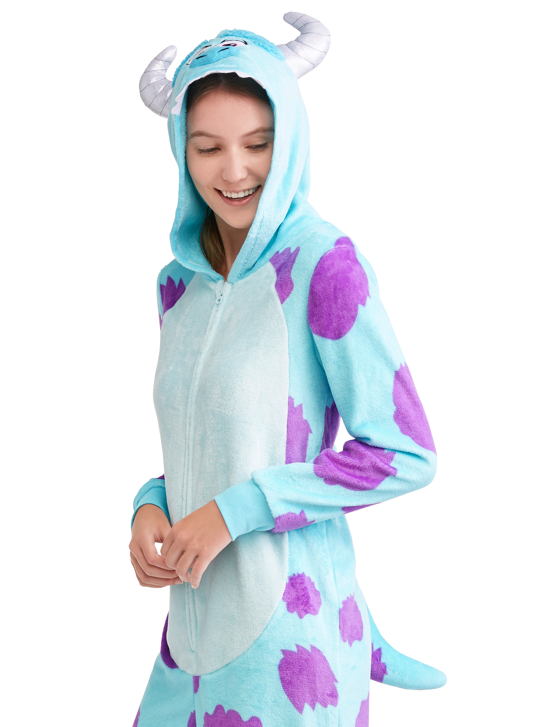Monsters Inc Sully Monster Women S And Women S Plus Union Suit Walmart Com Walmart Com