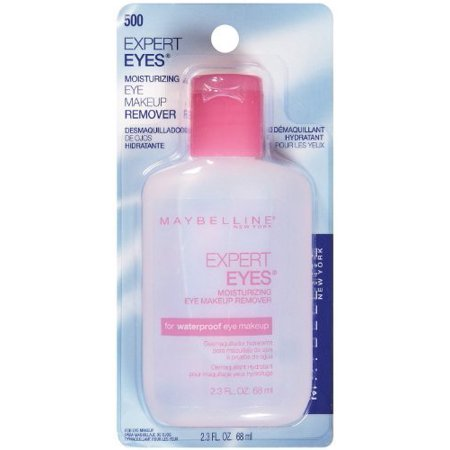 Maybelline Expert Eyes Moisturizing Eye Makeup Remover, For Waterproof Eye Makeup, 2.3 fl. (Best Drugstore Eye Makeup Remover For Waterproof Mascara)