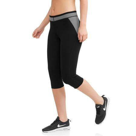 Women's Slimming Neoprene Activewear Capri Pant