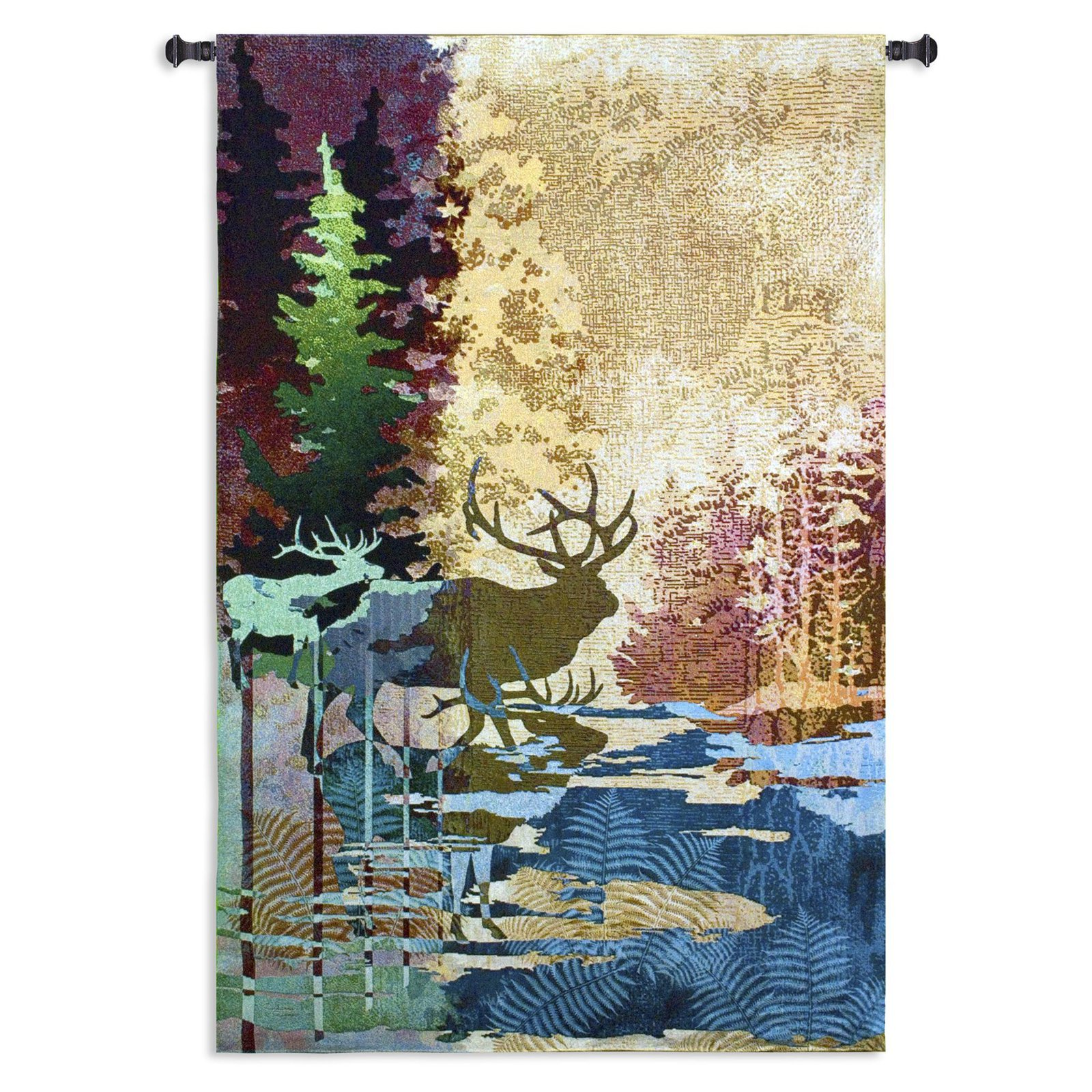 Fine Art Tapestries Ghosts of The Tall Timbers Wall Tapestry
